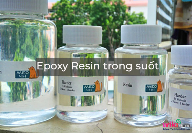 Epoxy Resin trong suốt (Clear TYPE):