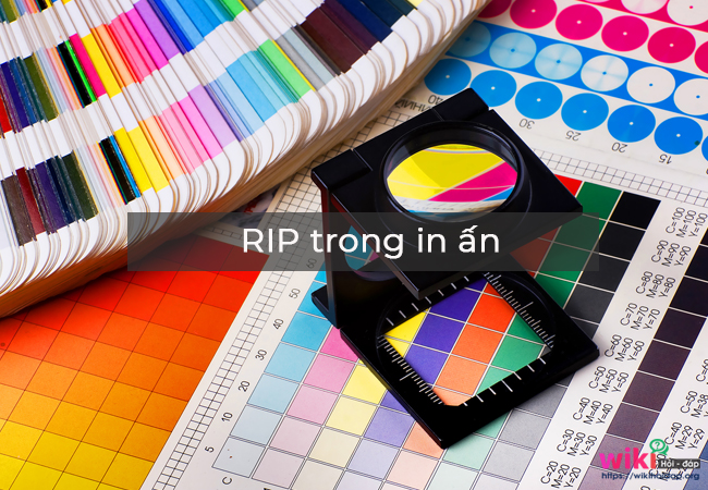 RIP trong in ấn