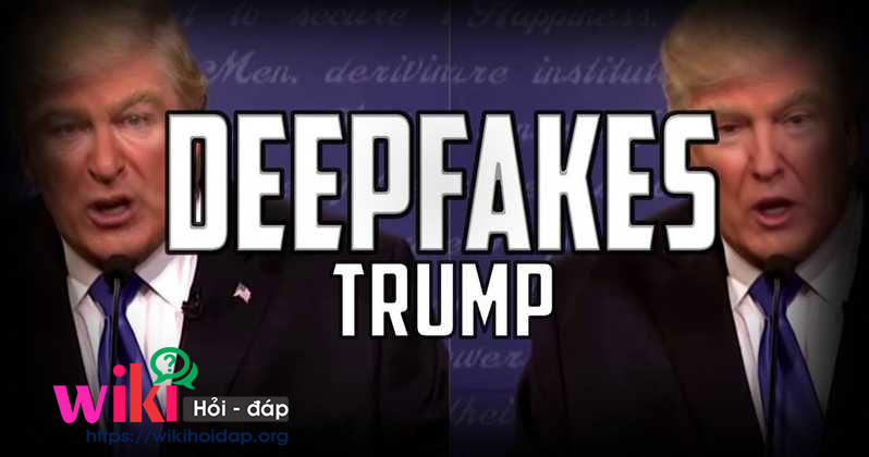 Donald Trump with Deep App Fakes